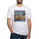 Mallard Flight Fitted T-Shirt