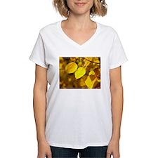 Funny Autumn leaves aspen leaves Shirt