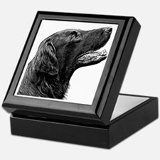 Flat-Coated Retriever Keepsake Box