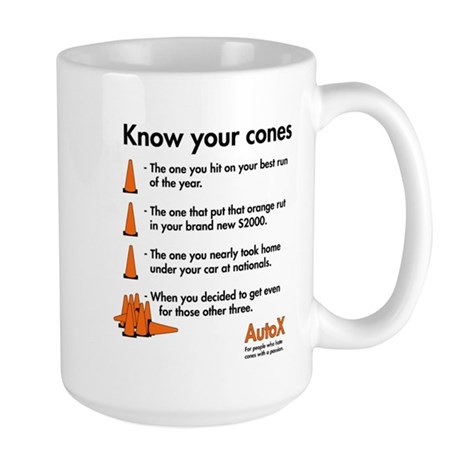 Know Your Cones Large Mug