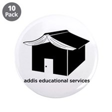 """Addis Education 3.5"""" Button (10 pack)"""