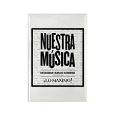 Nuestra Musica Rectangle Magnet