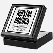 Nuestra Musica Keepsake Box