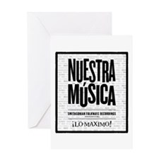 Nuestra Musica Greeting Card