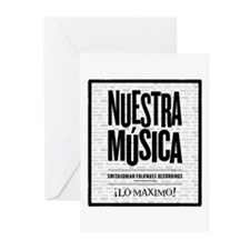 Nuestra Musica Greeting Cards (Pk of 20)