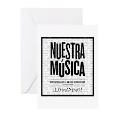 Nuestra Musica Greeting Cards (Pk of 20)