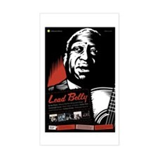 Lead Belly Rectangle Sticker