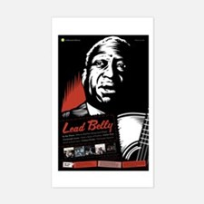 Lead Belly Rectangle Decal