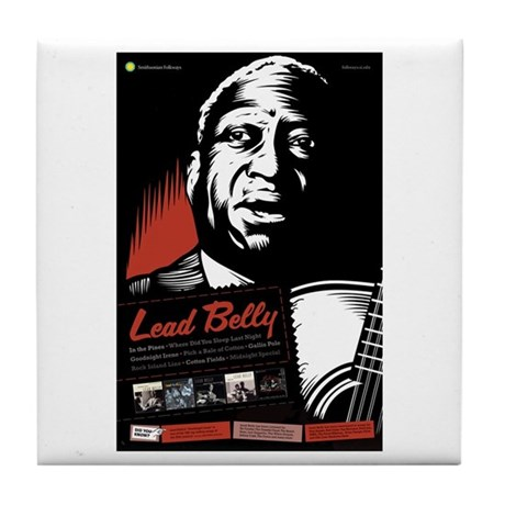 Lead Belly Tile Coaster