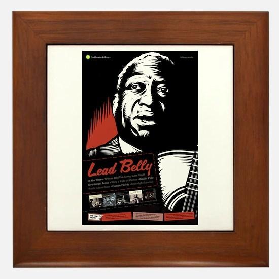 Lead Belly Framed Tile