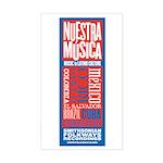 Nuestra Musica Rectangle Sticker