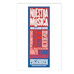 Nuestra Musica Postcards (Package of 8)