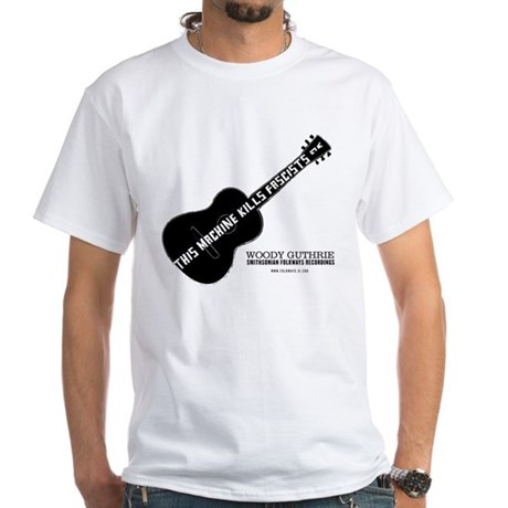 Woody Guthrie White T-Shirt