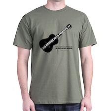 Woody Guthrie Dark T-Shirt