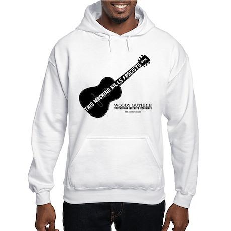 Woody Guthrie Hooded Sweatshirt