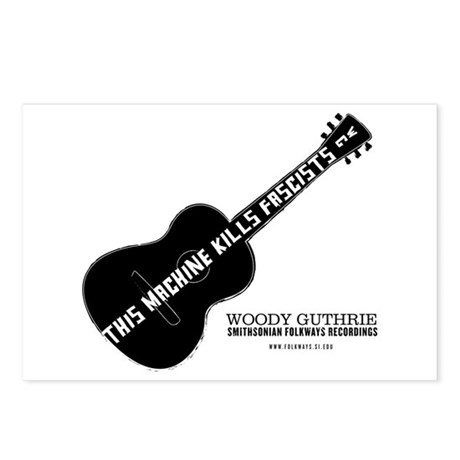 Woody Guthrie Postcards (Package of 8)