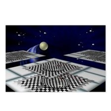 3d Space Postcards (Package of 8)