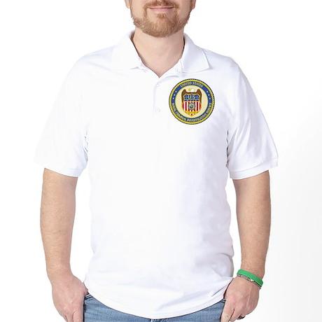 US NCIS Color Seal Golf Shirt