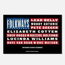 Folkways Artists Postcards (Package of 8)