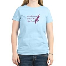 Girls love M4A1 Gun T-shirt (Women's)