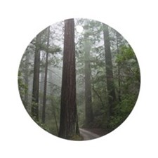 Redwood Forest Ornament (Round)