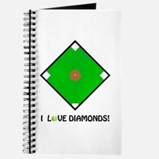 "Softball, ""I Love Diamonds!"" Journal"