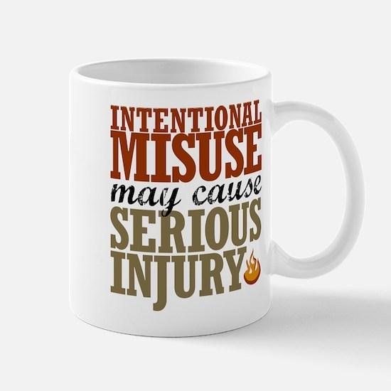 Misuse May Cause Injury   Mug