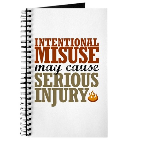 Misuse May Cause Injury | Journal