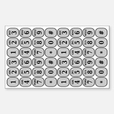 Smartphone Dial by Name Decal