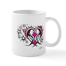 Mug, Flaming Heart Birds