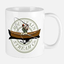 Mountain Stream drift fisher Mug