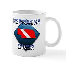 Nebraska Diver Mug