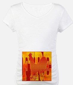 Chinese Fire Rooster Shirt