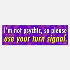 I'm Not Psychic (sticker)