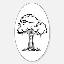 Dryad Oval Decal