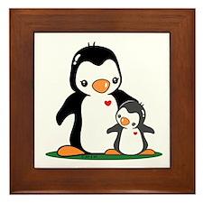 Mom & Baby Framed Tile