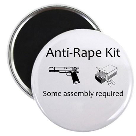 Anti-rape kit (some assembly required) Magnet