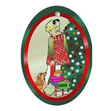 Ornaments Only Oval Ornament