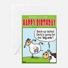 """The """"BIG ONE""""! Greeting Card"""
