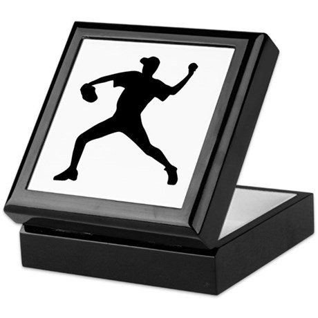 Baseball - Pitcher Keepsake Box