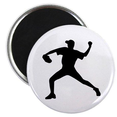 Baseball - Pitcher Magnet
