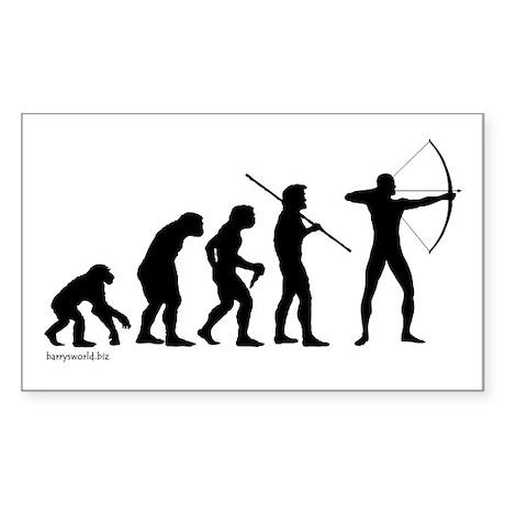 Archer Evolution Rectangle Sticker 10 pk)