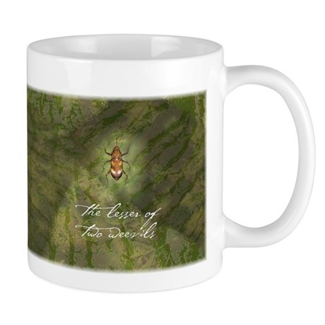 Lesser of Two Weevils Mug