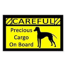 Precious Cargo Manchester Terrier Decal