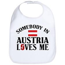 Somebody In Austria Bib