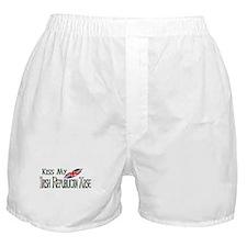 Brit Kiss Boxer Shorts