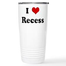I Love Recess Travel Mug