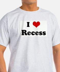 I Love Recess T-Shirt