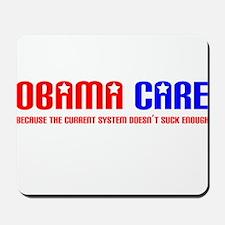 Obama Care Mousepad