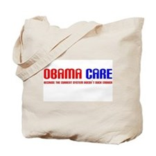 Obama Care Tote Bag